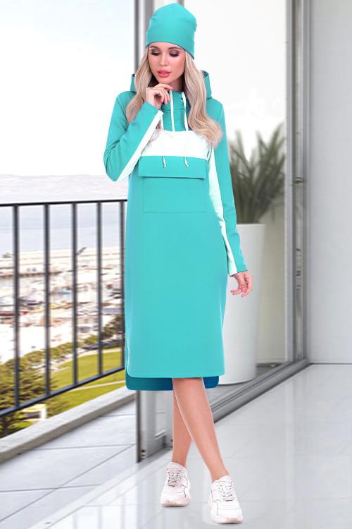 Платье Моника (бирюзовый остров)
