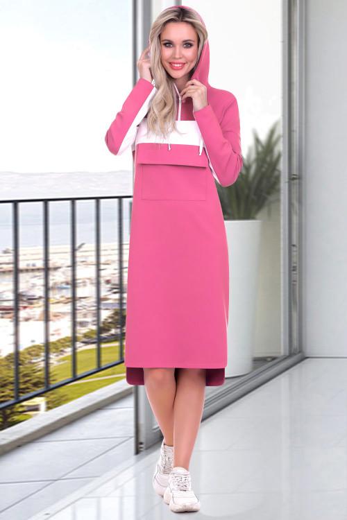 Платье Моника (розовый лимонад)