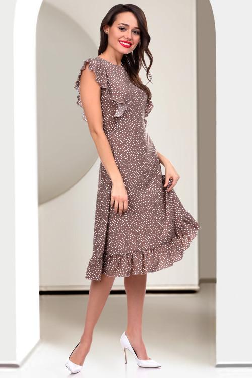 Платье Феличита (кофе дотс)