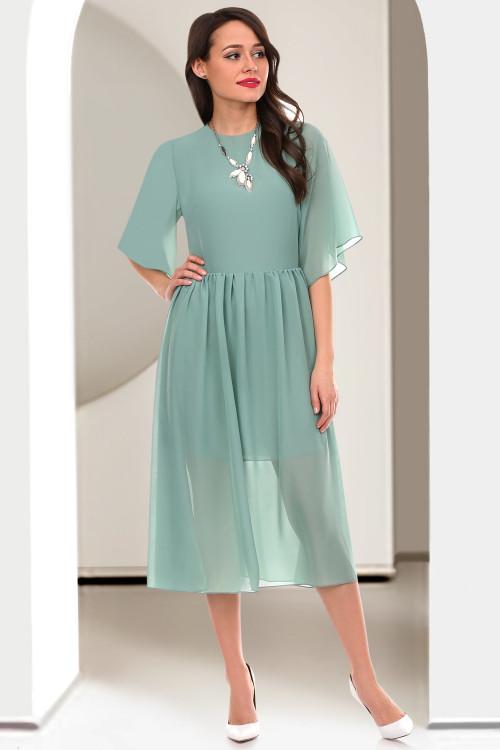 Платье Фортуната (олива)
