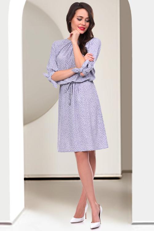 Платье Патриция (сильвер дотс)