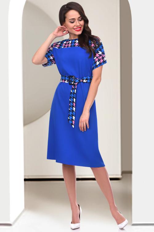 Платье Фристайл (сапфир)