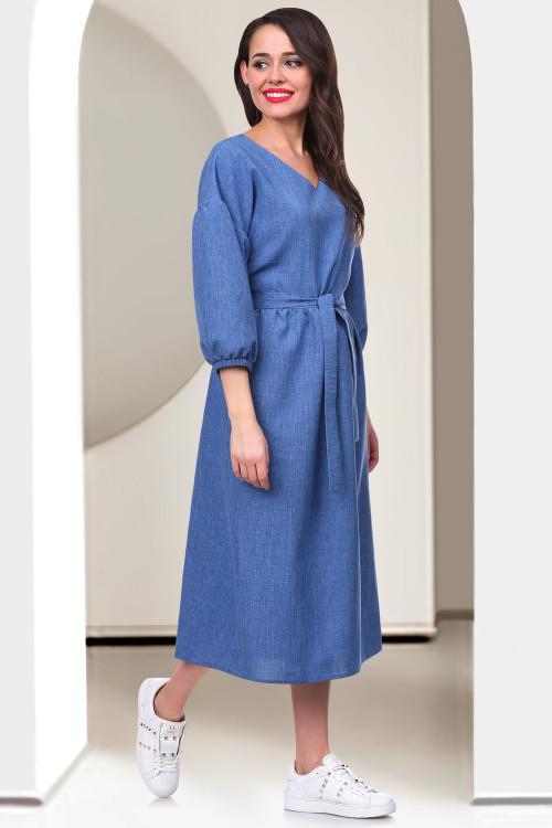 Платье Бохо (джинс)