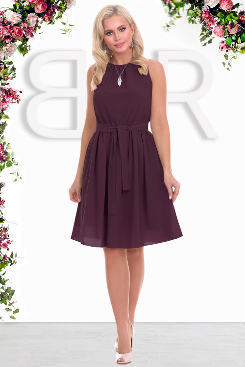 Платье Дэбора (бургун)