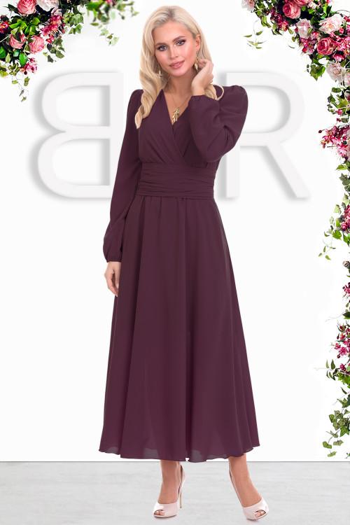 Платье Бэлла (бургун)