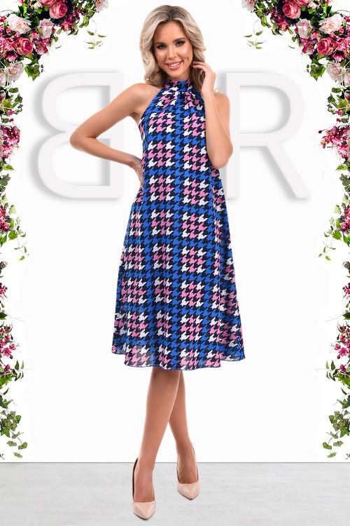 Платье Афродита (радуга сапфир)
