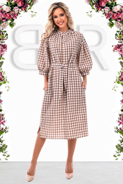 Платье Браво (капучино)