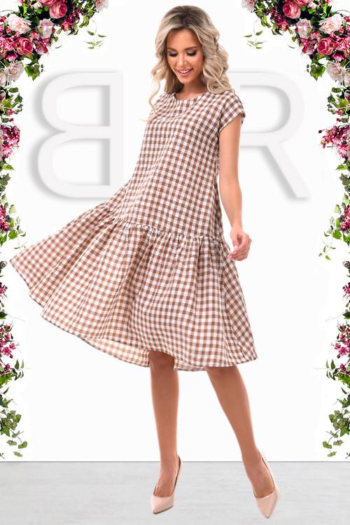 Платье Тутси (капучино)
