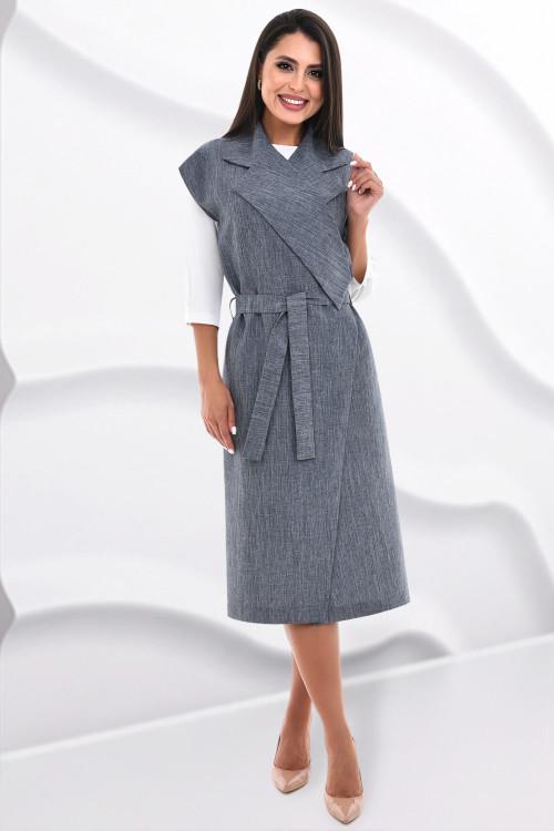 Платье-сарафан Эдит (пепел)