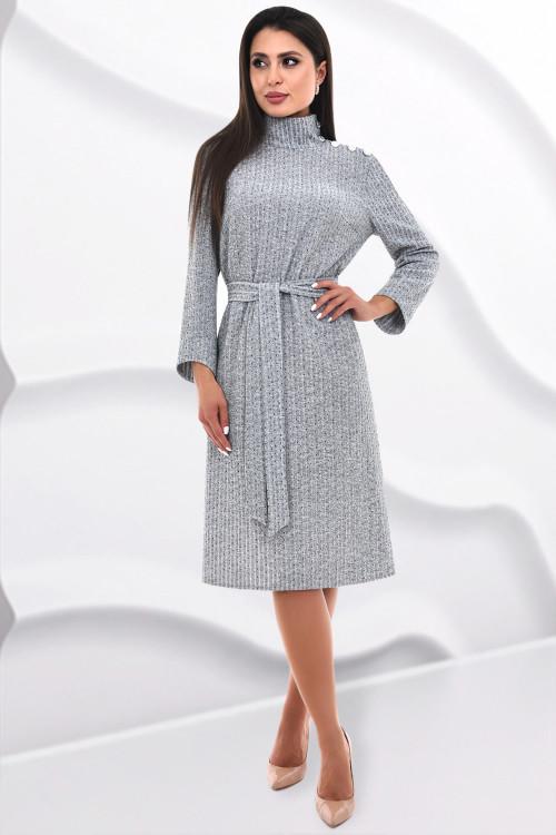 Платье Фабьен (сильвер)