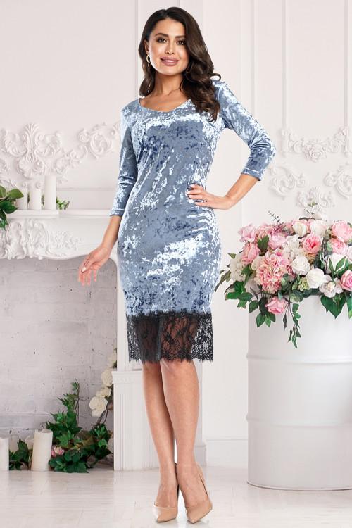 Платье Реномэ (блю)