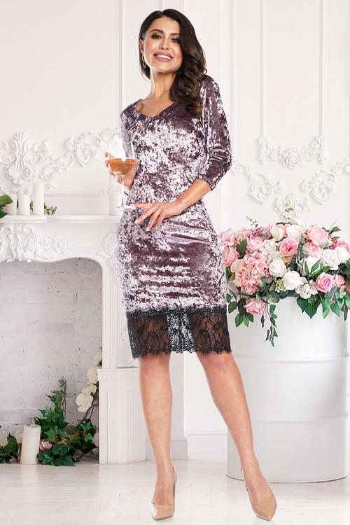 Платье Реномэ (пинк)