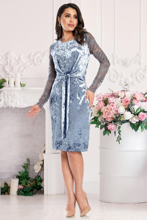 Платье Аморэ (блю)