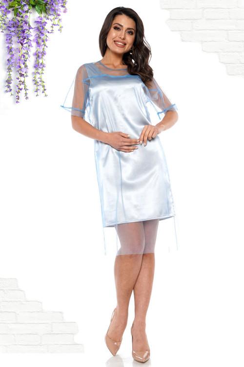 Платье Амарэтто (блю грэй)