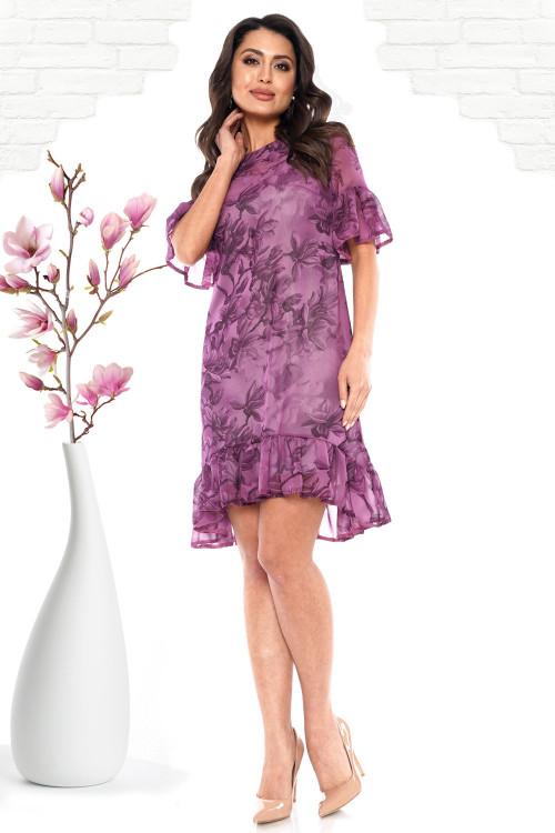 Платье Николетта (фиалка)