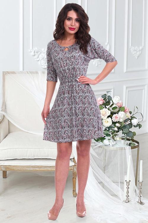 Платье Верона (пейсли)