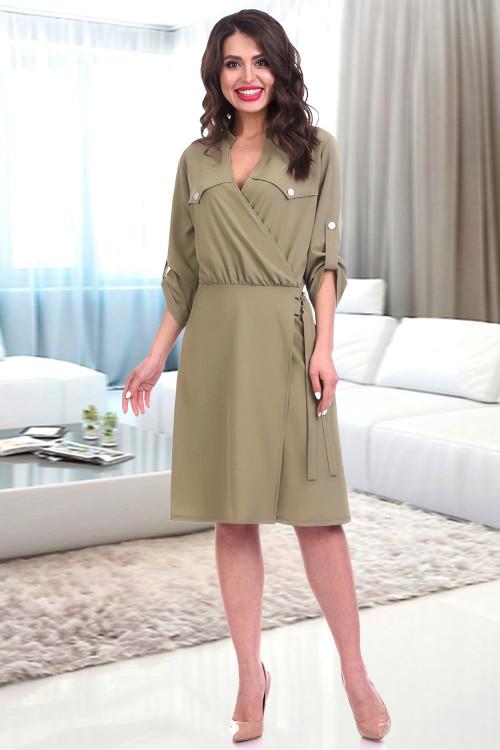 Платье Джустина (хаки)