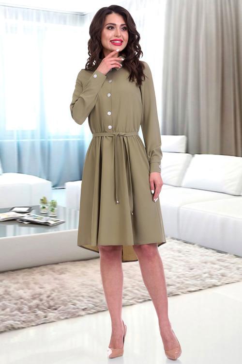 Платье Итэлия (хаки)