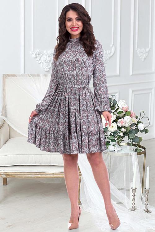Платье Каринни (пейсли)