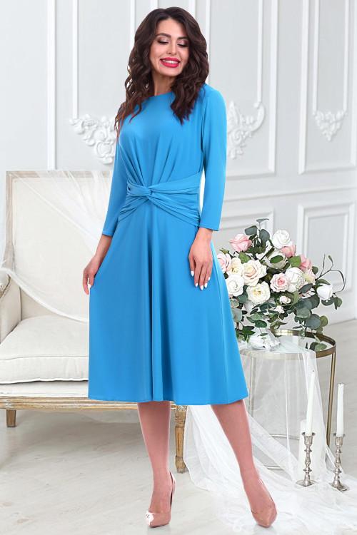 Платье Магдалена (скай)