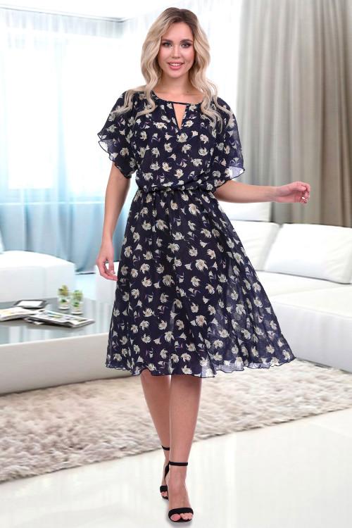 Платье Тиффани (дарк фиори)