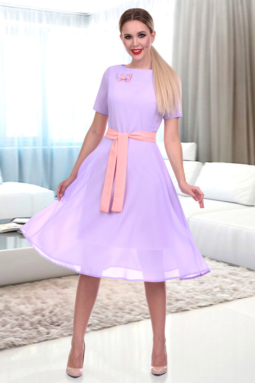 Платье Венеция (сирень)