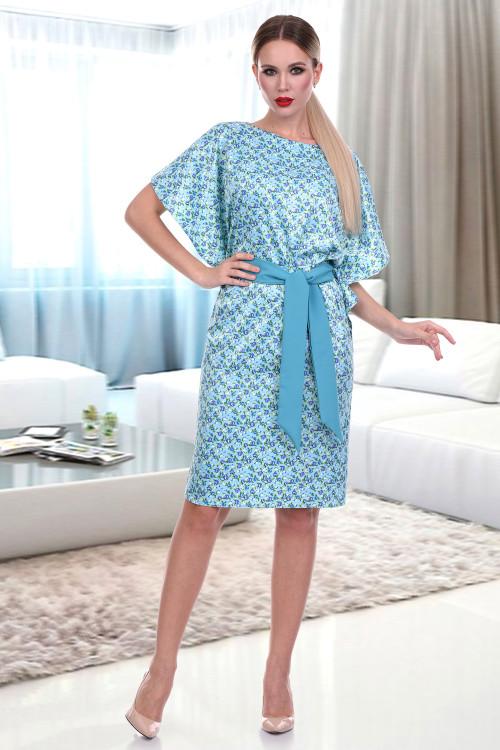 Платье Инканта нью (фиори блю)
