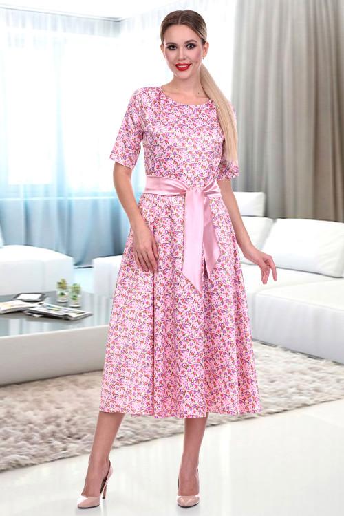 Платье Комильфо (фиори пинк)