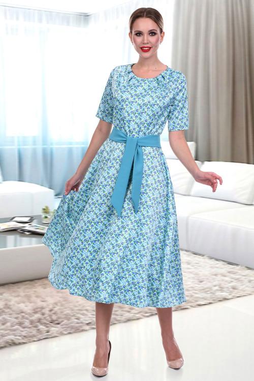 Платье Комильфо (фиори блю)