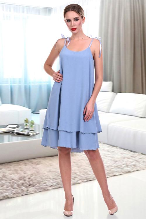 Платье-сарафан Асти (блю)