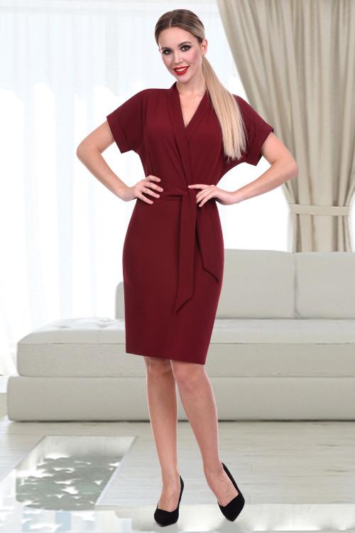 Платье Тэмпо нью (марсала)