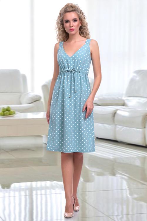 Платье-сарафан Эльза (дотс фрэш)