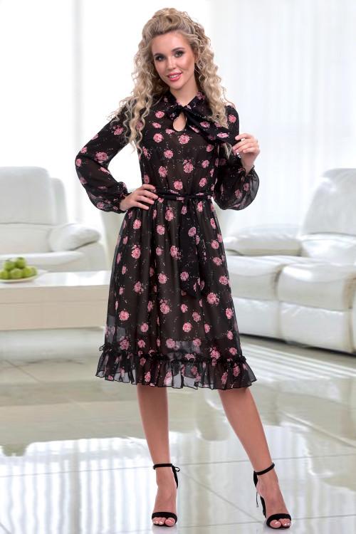 Платье Кармеллита (блэк)