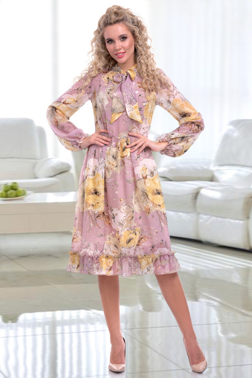Платье Кармеллита (лила)