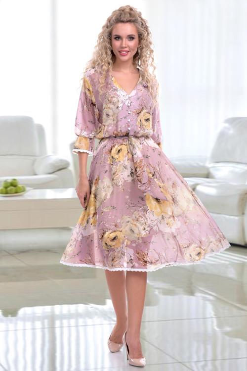 Платье Аллюр (лила)