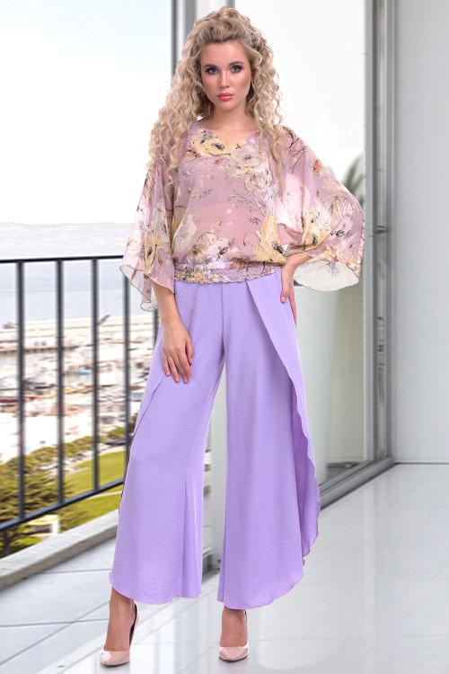 Блузка Севилья (лила)