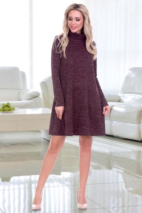 Платье Шэнна (вино)