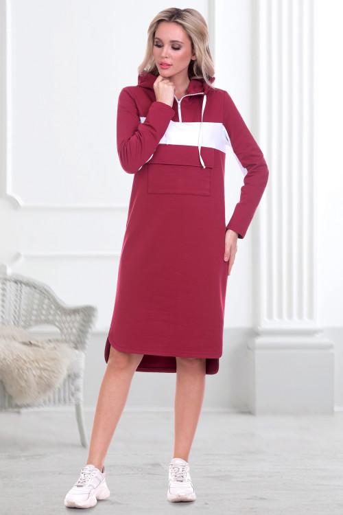 Платье Моника (вишня)