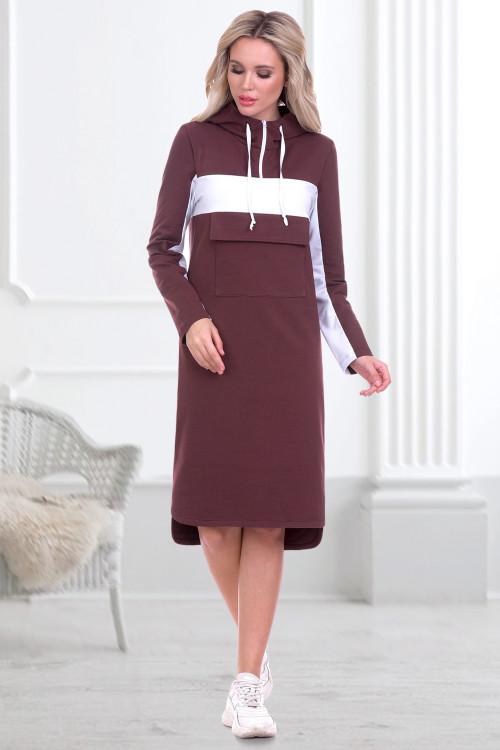 Платье Моника (трюфель)