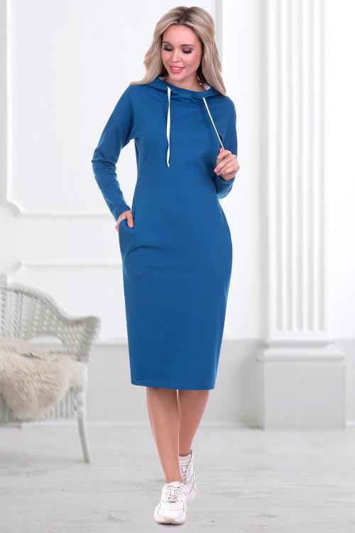 Платье-худи Парма (мурена)