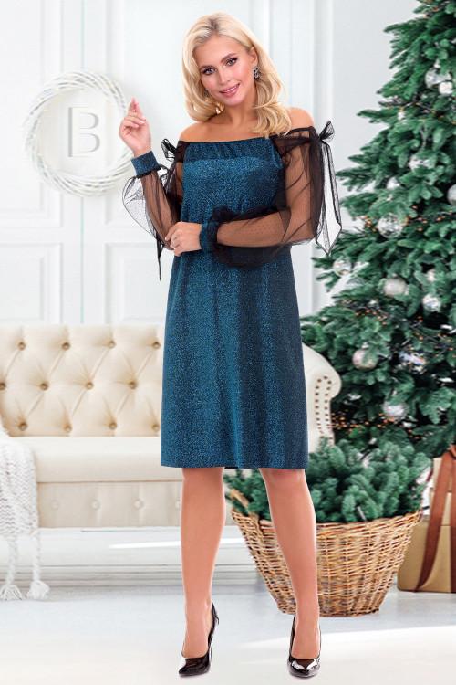 Платье Арманда (блю)