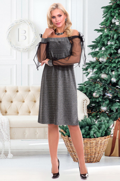 Платье Арманда (сильвер)
