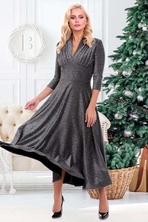 Платье Беатрис (сильвер)