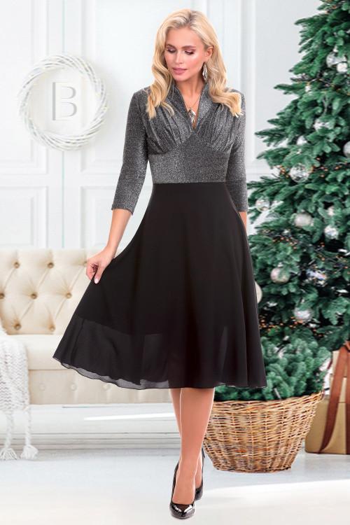 Платье Беатрис нью (сильвер)