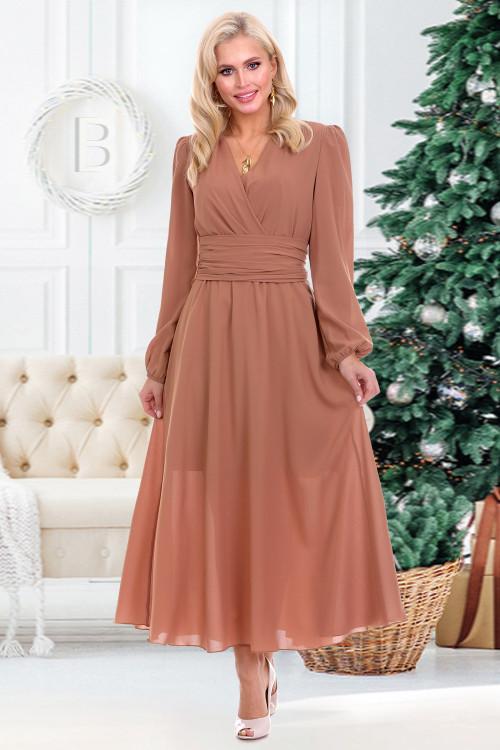 Платье Бэлла (корица)