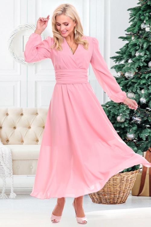 Платье Бэлла (пудра)