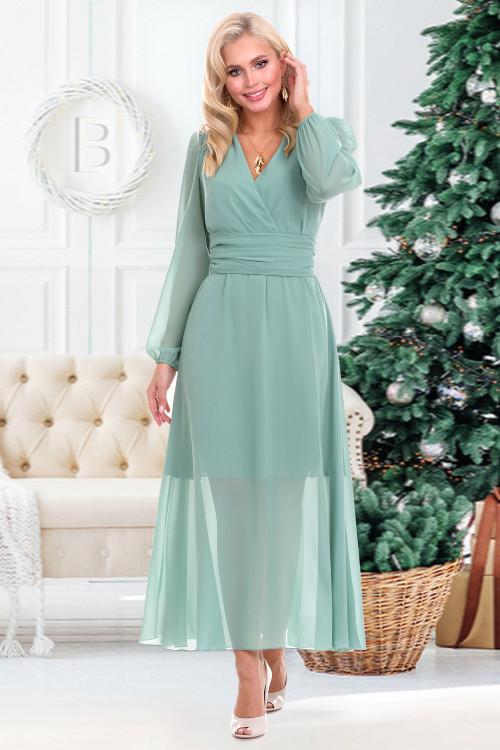 Платье Бэлла (олива)