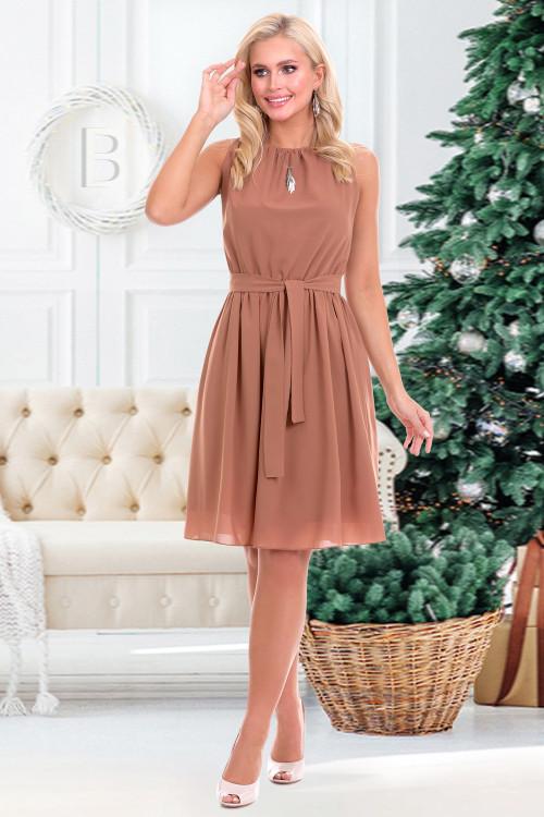 Платье Дэбора (корица)