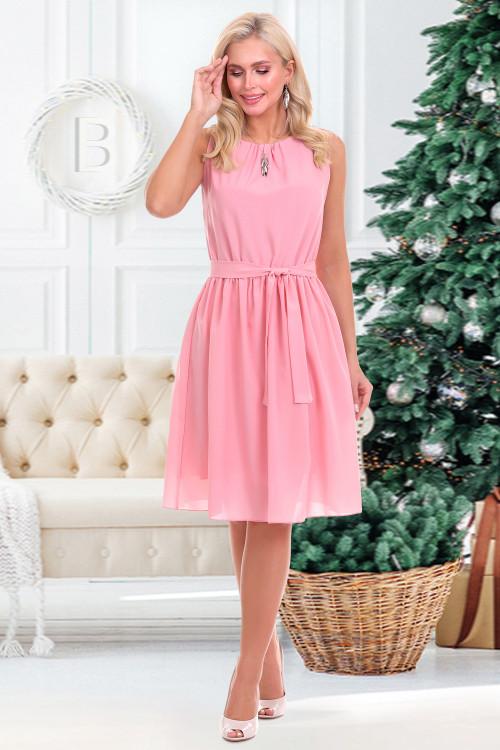 Платье Дэбора (пудра)