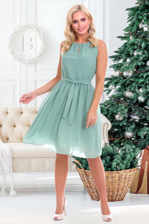 Платье Дэбора (олива)